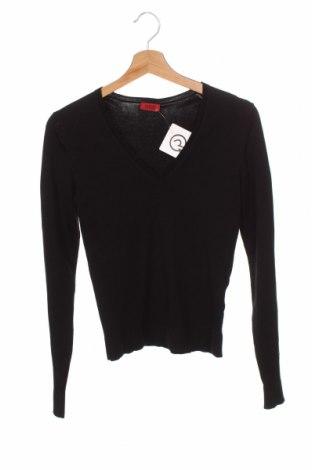 Γυναικείο πουλόβερ Hugo Boss, Μέγεθος XS, Χρώμα Μαύρο, 80% μετάξι, 18% πολυαμίδη, 2% ελαστάνη, Τιμή 44,54€