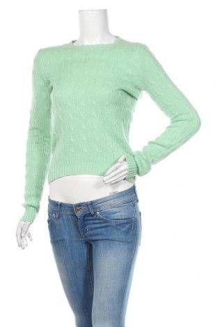 Γυναικείο πουλόβερ Ralph Lauren, Μέγεθος M, Χρώμα Πράσινο, Κασμίρι, Τιμή 25,98€