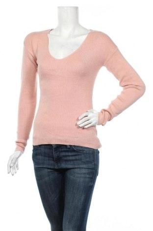 Γυναικείο πουλόβερ Review, Μέγεθος XS, Χρώμα Ρόζ , 60% βαμβάκι, 40% πολυαμίδη, Τιμή 18,19€