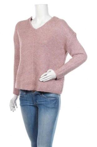 Pulover de femei Vero Moda, Mărime M, Culoare Roz, 56% poliester, 28%acril, 9% lână de alpaca, 7% lână, Preț 93,75 Lei