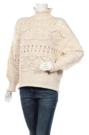 Pulover de femei Vero Moda, Mărime L, Culoare Bej, 50%acril, 50% poliester, Preț 106,11 Lei