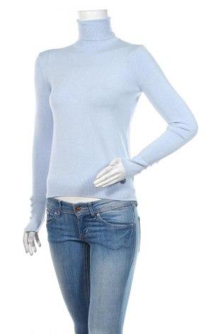 Dámský svetr Zara, Velikost S, Barva Modrá, 83% viskóza, 15% polyamide, 2% elastan, Cena  443,00Kč
