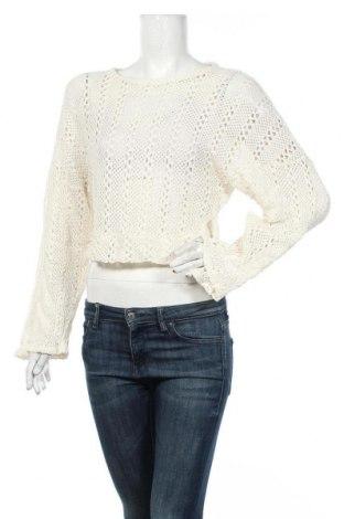 Γυναικείο πουλόβερ Zara, Μέγεθος M, Χρώμα Λευκό, Βαμβάκι, Τιμή 23,38€