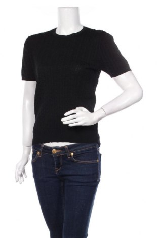 Дамски пуловер Zara, Размер XXL, Цвят Черен, 62% вискоза, 38% полиамид, Цена 39,00лв.