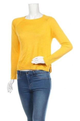 Pulover de femei Zara Knitwear, Mărime S, Culoare Galben, Preț 63,13 Lei