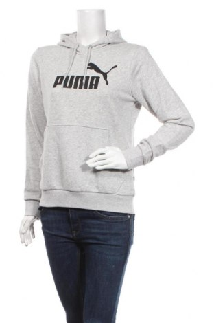 Дамски суичър PUMA, Размер M, Цвят Сив, 68% памук, 32% полиестер, Цена 88,20лв.