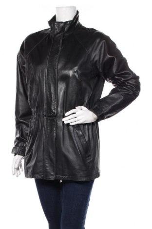 Γυναικείο δερμάτινο μπουφάν Loro Piana, Μέγεθος L, Χρώμα Μαύρο, Γνήσιο δέρμα, Τιμή 365,57€