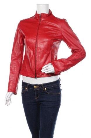 Γυναικείο δερμάτινο μπουφάν Miss Sixty, Μέγεθος S, Χρώμα Κόκκινο, Γνήσιο δέρμα, Τιμή 62,31€