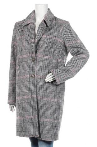 Dámský kabát  C&A, Velikost M, Barva Šedá, 83% polyester, 11% vlna, 6%acryl, Cena  861,00Kč