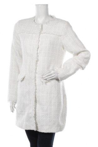 Dámský kabát  C&A, Velikost L, Barva Bílá, Polyester, Cena  733,00Kč