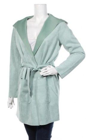Дамско палто Cartoon, Размер S, Цвят Зелен, 90% полиестер, 10% еластан, Цена 83,85лв.
