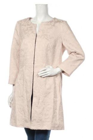 Дамско палто Comma,, Размер XL, Цвят Бежов, 62% памук, 35% полиестер, 3% еластан, Цена 216,75лв.