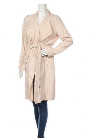 Дамско палто Comma,, Размер M, Цвят Бежов, 66% полиестер, 32% вискоза, 2% еластан, Цена 202,30лв.