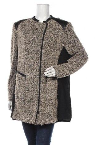 Дамско палто Gelco, Размер XXL, Цвят Бежов, 43% полиакрил, 43% полиестер, 14% вълна, Цена 48,30лв.