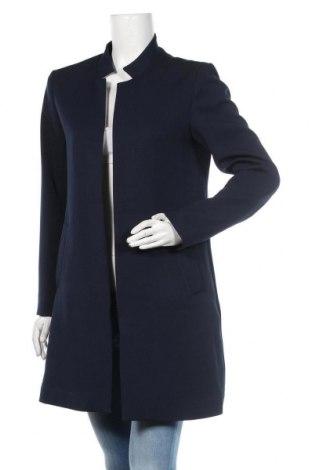 Palton de femei H&M, Mărime M, Culoare Albastru, Poliester, Preț 138,16 Lei