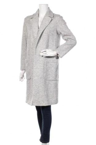 Palton de femei H&M, Mărime M, Culoare Gri, 67% poliester, 33% lână, Preț 160,37 Lei