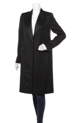 Дамско палто Hugo Boss, Размер M, Цвят Бял, Вълна, Цена 539,25лв.