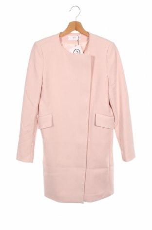 Palton de femei Mango, Mărime XS, Culoare Roz, 68% poliester, 28% viscoză, 4% elastan, Preț 268,91 Lei
