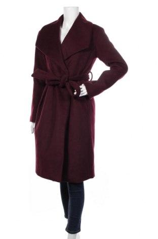 Дамско палто Mint & Berry, Размер S, Цвят Червен, 83% полиестер, 17% вълна, Цена 119,25лв.