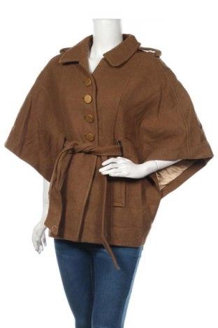 Γυναικείο παλτό Miss Sixty, Μέγεθος S, Χρώμα Καφέ, 51% μαλλί, 42% πολυεστέρας, 7% πολυαμίδη, Τιμή 70,79€