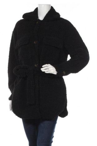 Palton de femei Missguided, Mărime S, Culoare Negru, Poliester, Preț 215,53 Lei