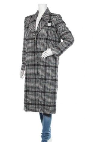 Дамско палто Pepe Jeans, Размер XL, Цвят Многоцветен, 61% полиестер, 34% вълна, 3% полиамид, 2% акрил, Цена 291,75лв.