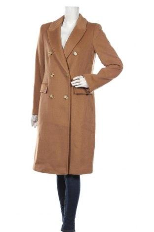 Дамско палто Ralph Lauren, Размер M, Цвят Кафяв, 60% вълна, 25% полиестер, 5% кашмир, 5% памук, 5% други материали, Цена 426,75лв.