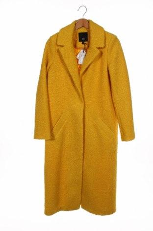 Дамско палто River Island, Размер XS, Цвят Жълт, Полиестер, Цена 119,25лв.