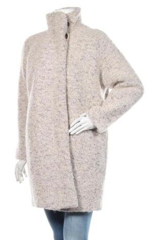 Dámský kabát  Samsoe & Samsoe, Velikost M, Barva Béžová, 52% polyester, 48% vlna, Cena  4663,00Kč