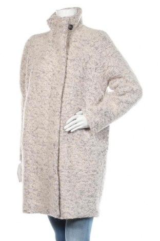Дамско палто Samsoe & Samsoe, Размер L, Цвят Бежов, 52% полиестер, 48% вълна, Цена 321,75лв.