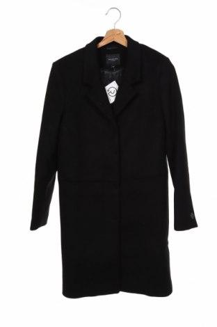 Дамско палто Selected Femme, Размер XS, Цвят Черен, 50% вълна, 50% полиестер, Цена 186,75лв.