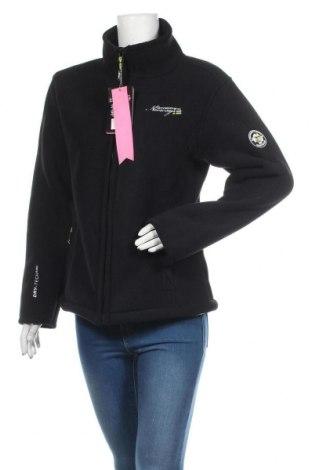 Γυναικείο μπουφάν fleece Geographical Norway, Μέγεθος L, Χρώμα Μαύρο, Πολυεστέρας, Τιμή 70,02€