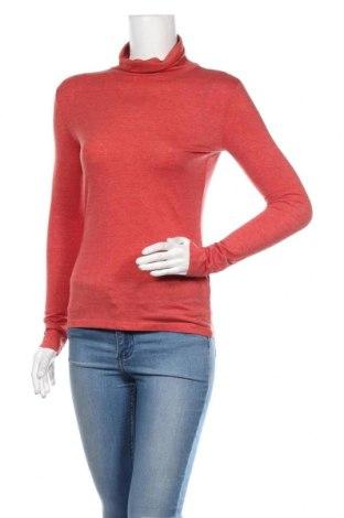 Dámský rolák C&A, Velikost XS, Barva Červená, 65% polyester, 35% bavlna, Cena  271,00Kč