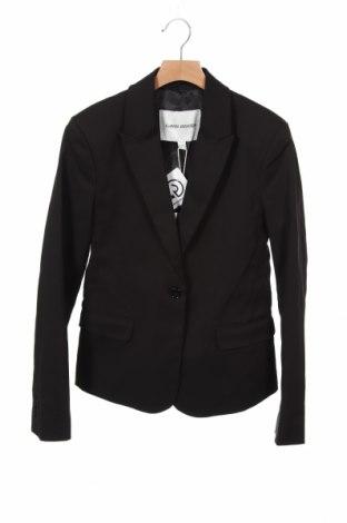 Дамско сако Carin Wester, Размер XS, Цвят Черен, 52% памук, 45% полиестер, 3% еластан, Цена 76,30лв.