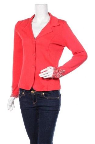 Дамско сако Heine, Размер M, Цвят Червен, 100% памук, Цена 24,00лв.