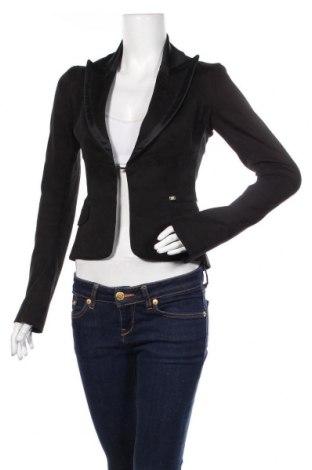 Γυναικείο σακάκι Miss Sixty, Μέγεθος S, Χρώμα Μαύρο, 97% βαμβάκι, 3% ελαστάνη, Τιμή 25,29€