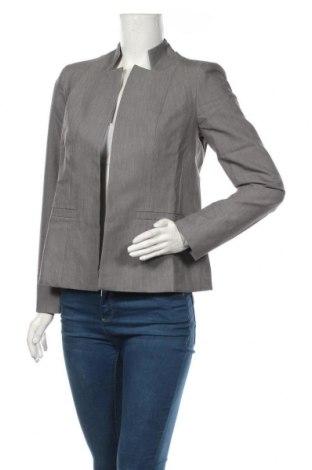 Γυναικείο σακάκι Nife, Μέγεθος M, Χρώμα Γκρί, 60% πολυεστέρας, 35% βισκόζη, 5% ελαστάνη, Τιμή 46,01€