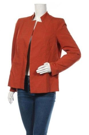 Γυναικείο σακάκι Nife, Μέγεθος XL, Χρώμα Πορτοκαλί, 60% πολυεστέρας, 35% βισκόζη, 5% ελαστάνη, Τιμή 46,01€