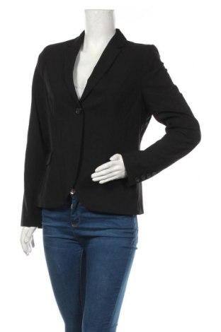 Γυναικείο σακάκι Queen Mum, Μέγεθος L, Χρώμα Μαύρο, 63% πολυεστέρας, 32% βισκόζη, 5% ελαστάνη, Τιμή 49,87€