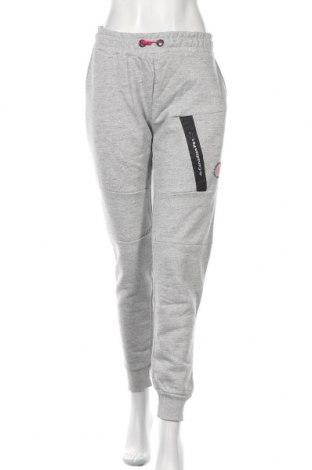 Pantaloni trening de femei Canadian Peak, Mărime XL, Culoare Gri, 65% bumbac, 35% poliester, Preț 169,80 Lei