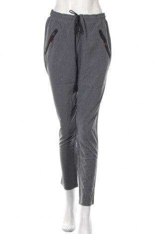 Pantaloni trening de femei Esprit, Mărime L, Culoare Gri, 93% poliester, 7% elastan, Preț 189,71 Lei