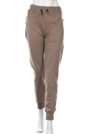 Pantaloni trening de femei Geographical Norway, Mărime XL, Culoare Maro, 72% bumbac, 28% poliester, Preț 160,27 Lei