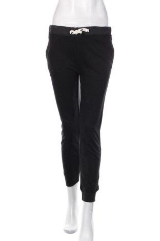 Pantaloni trening de femei Zara Trafaluc, Mărime M, Culoare Negru, 58% bumbac, 42% poliester, Preț 88,82 Lei