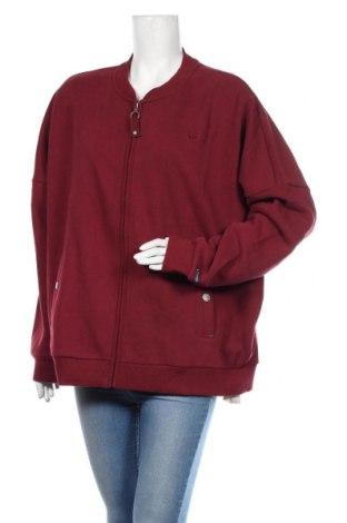 Bluză trening de femei Dreimaster, Mărime XL, Culoare Roșu, 70% bumbac, 30% poliester, Preț 189,71 Lei
