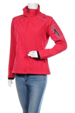Geacă sport de femei CMP, Mărime M, Culoare Roz, 96% poliester, 4% elastan, Preț 293,59 Lei