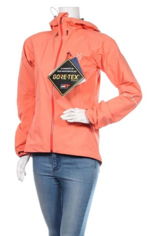 Γυναικείο μπουφάν αθλητικό Haglofs, Μέγεθος S, Χρώμα Πορτοκαλί, Πολυαμίδη, Τιμή 100,18€