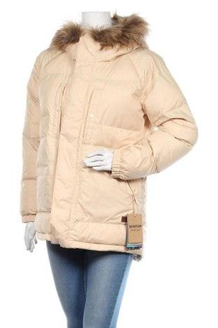 Γυναικείο μπουφάν Burton, Μέγεθος M, Χρώμα  Μπέζ, Πολυεστέρας, Τιμή 133,69€
