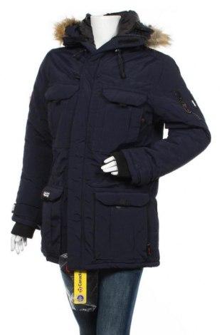 Γυναικείο μπουφάν Canadian Peak, Μέγεθος XL, Χρώμα Μπλέ, Πολυαμίδη, Τιμή 93,48€