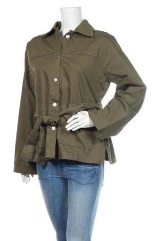 Дамско яке Carin Wester, Размер L, Цвят Зелен, 98% памук, 2% еластан, Цена 72,80лв.