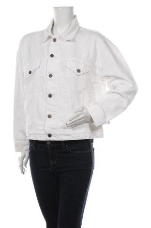 Дамско яке Etica, Размер S, Цвят Бял, 64% памук, 36% лиосел, Цена 125,30лв.